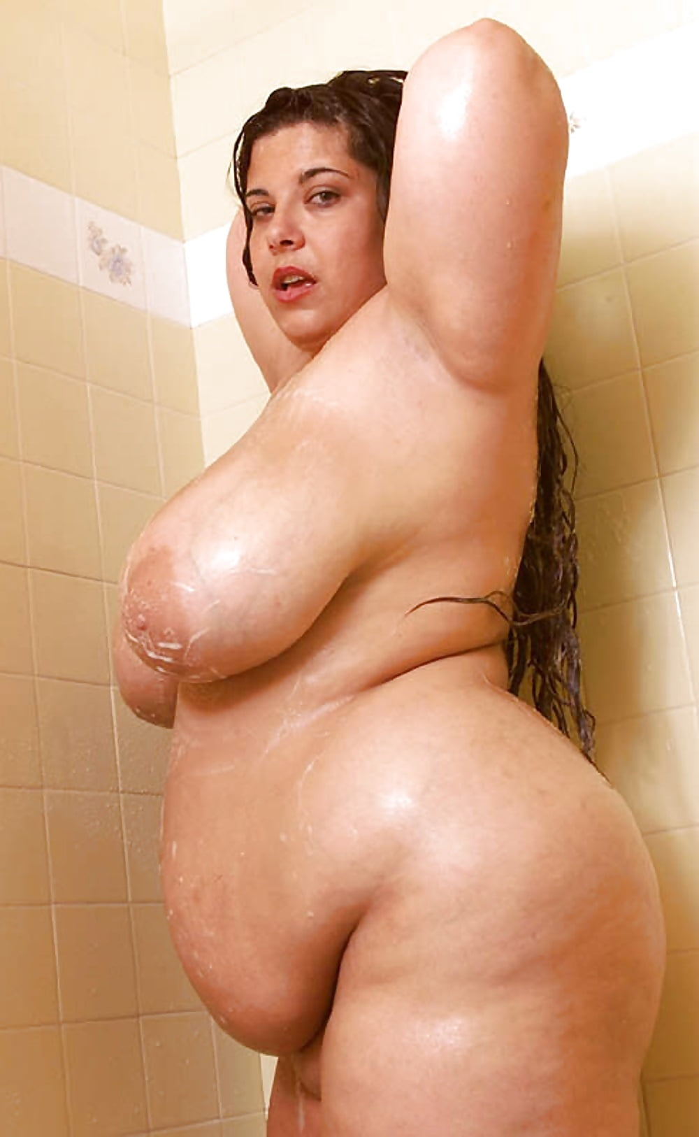 Fat naked women in shower, very young twink mature