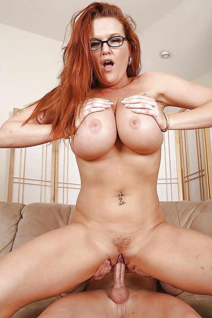 Big tits riding dick