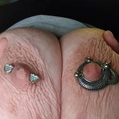 Nipple Piercing Test Areola Decoration