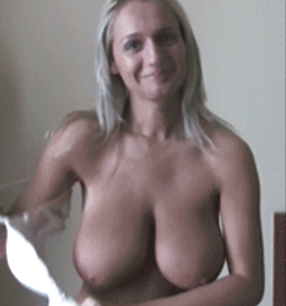 her Takes bra off