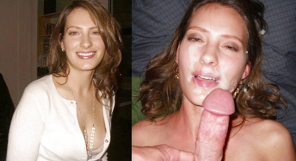 Real amateur wife facial