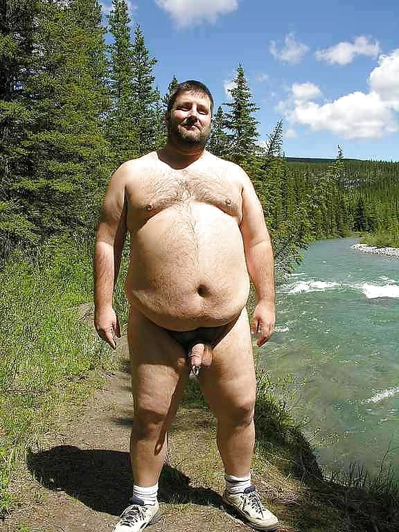 Candid nudist fat