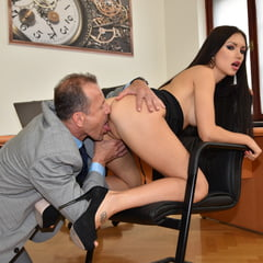 FILF Sasha Rose Wants Her New Boobs Tested By Her Stepdad