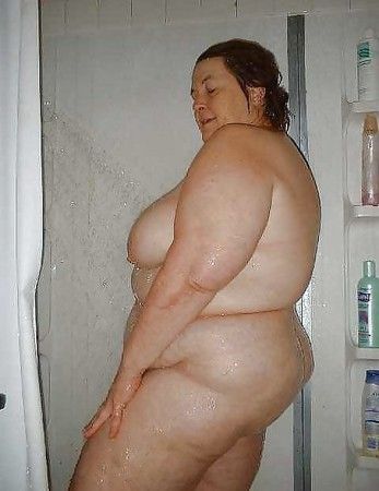 naked grannys in the shower