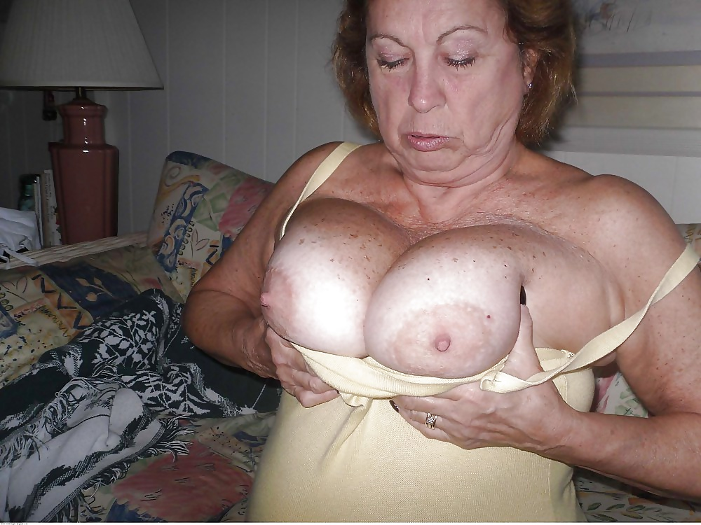 Grandma breasts videos — 3