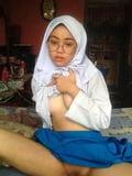 Hijab Asian Indonesian Muslim Girl Nude 11