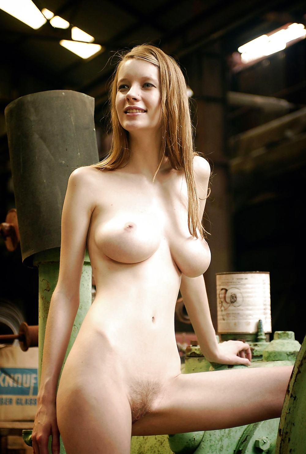 Slender girls with big tits 8