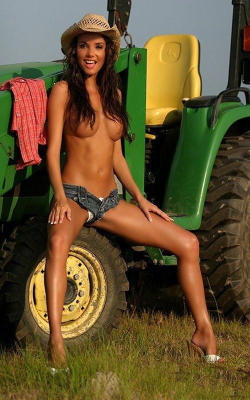 Hot girls nude on tractors, captive female porn