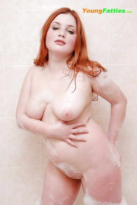 Young fat redhead girl nude — pic 10