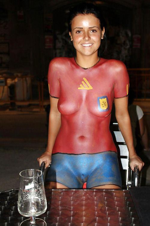 Amatuer body paint — photo 14