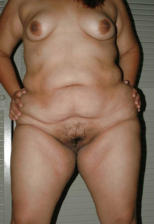 A bbw latin with hairy pussy