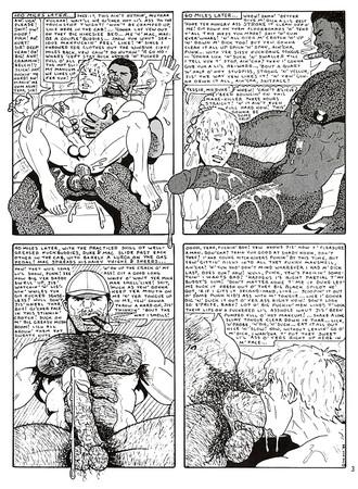 Vintage comic porn