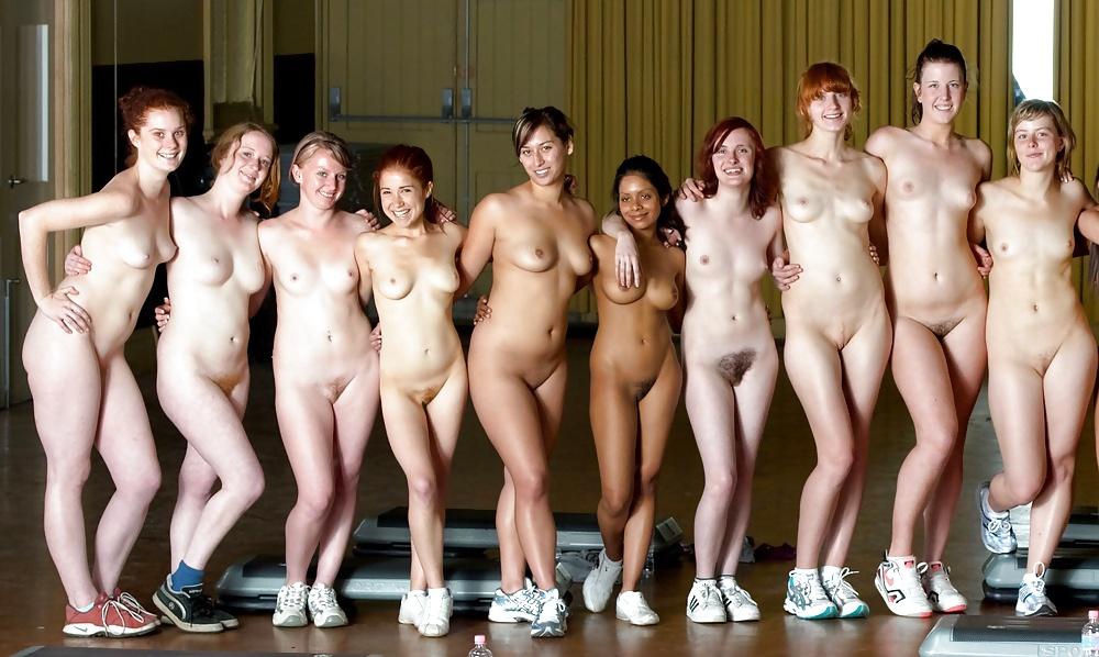Nude girl of school