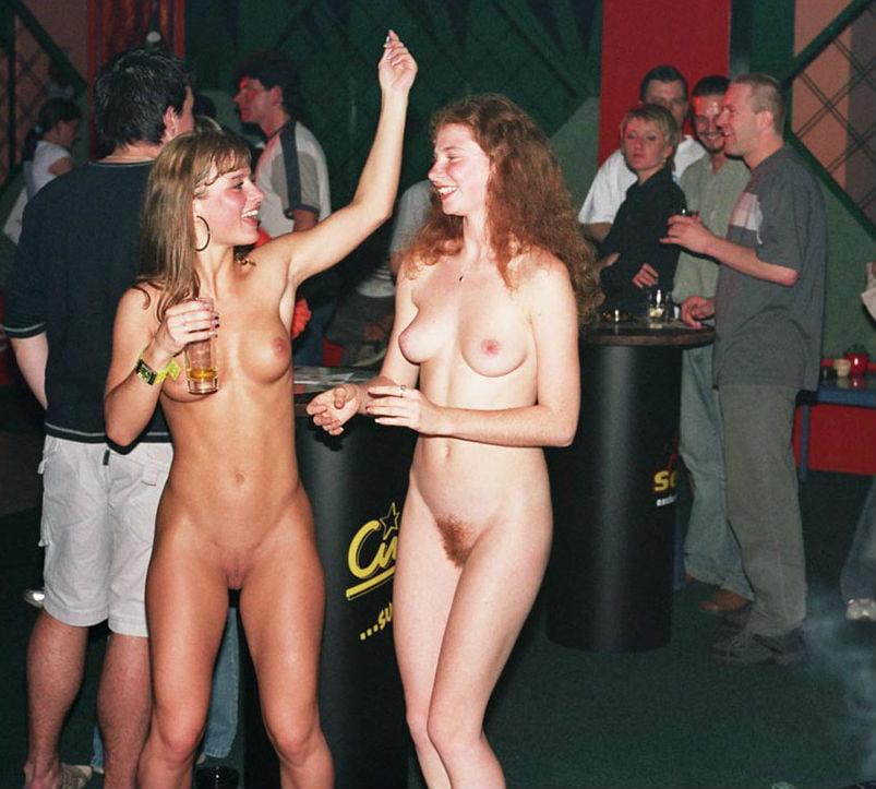 Three Sexy Girls Dance Naked