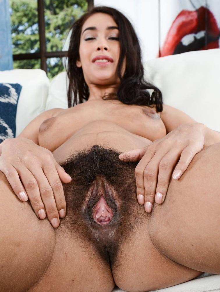 Hairy big clit milf