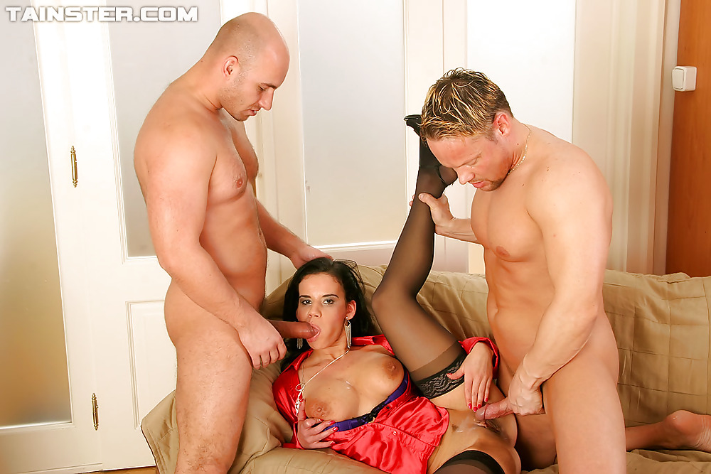 Brunette Threesome