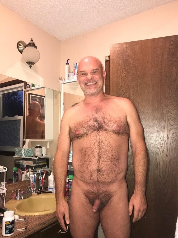 Dad shower son nude