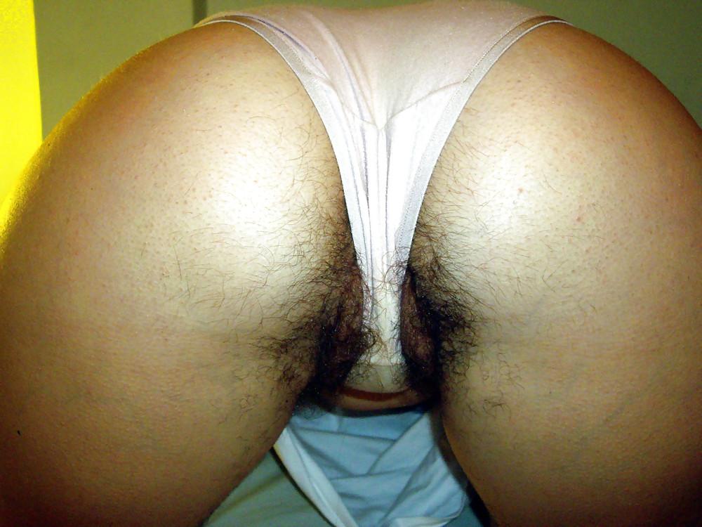 Masturbating Flashing Hairy Teen Thongs