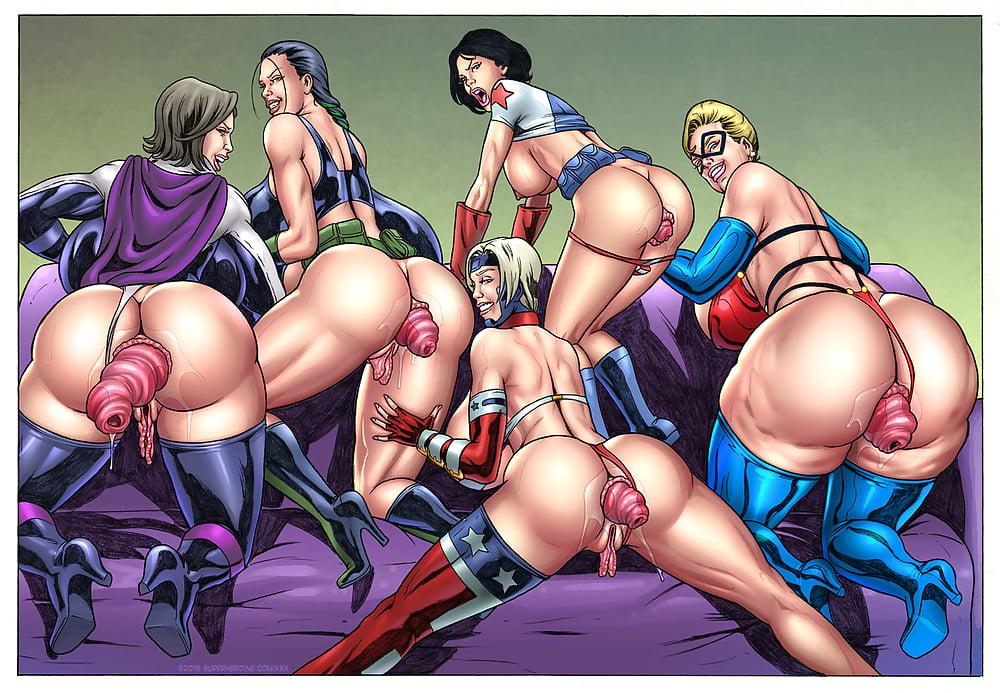 Superheroine porn naked