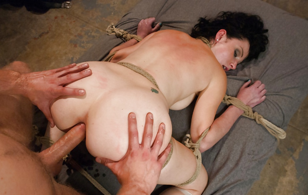 Tattoo squirt dynamo lily lane bound in rope bondage and fuc - 2 part 10