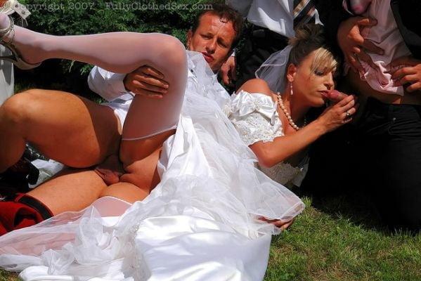 Young bride gang bang during wedding, nude midget women pics tumblr