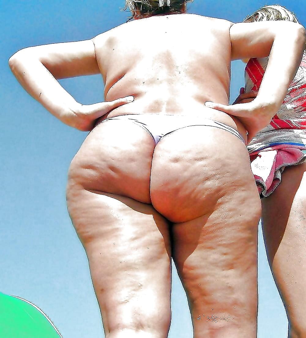 Fat ass beach voyeur pics — 13