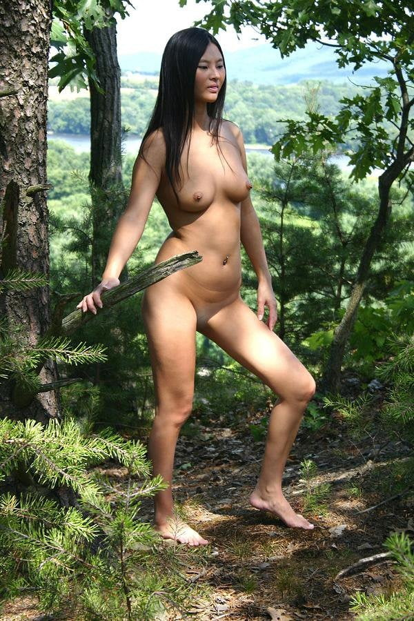 Naked Native American Tribe
