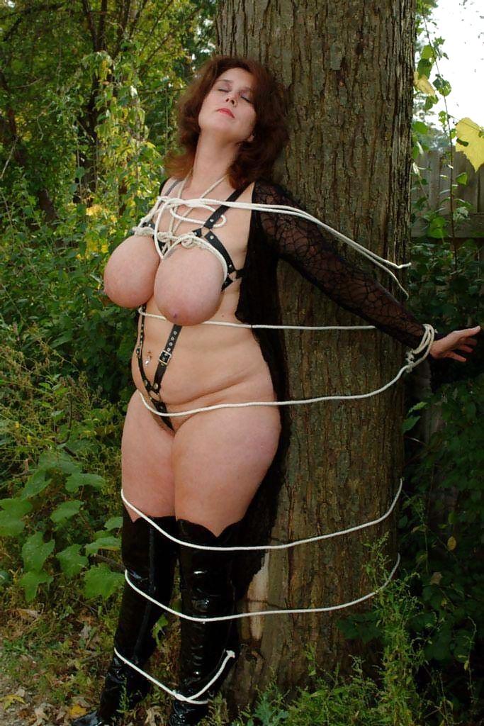 Chubby Mom Bondage
