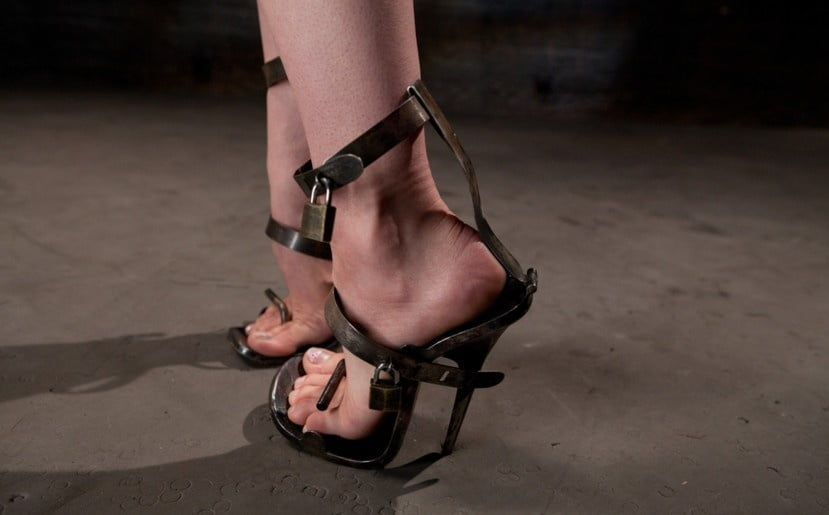 High heel bondage video galleries tires 12