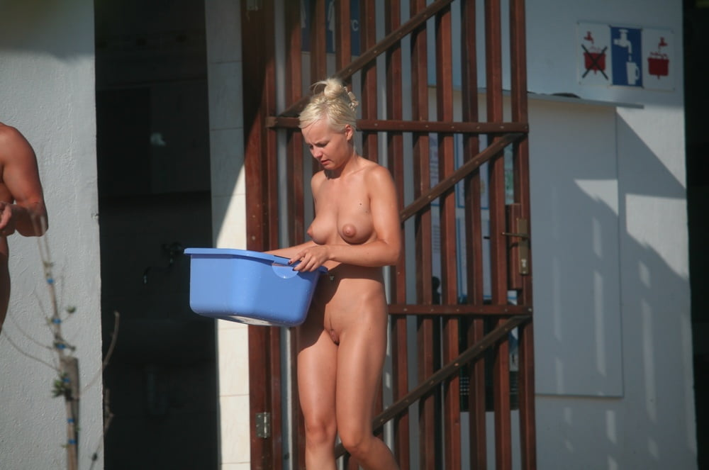 female-camping-shower-nude-bare