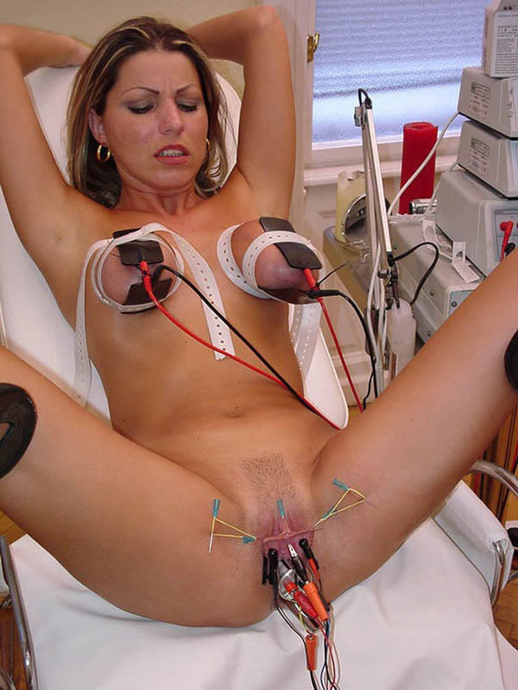 Cervix Electrosex With German Electrostimulator