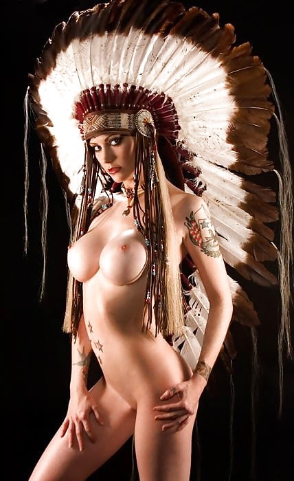 обнаженные индейцы фото - 10