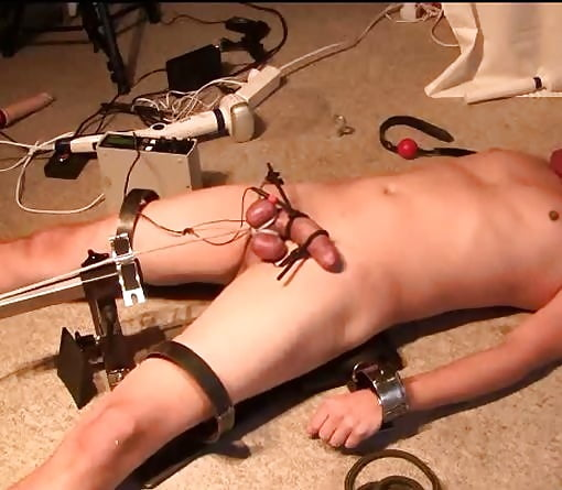 Electro stimulation orgasm