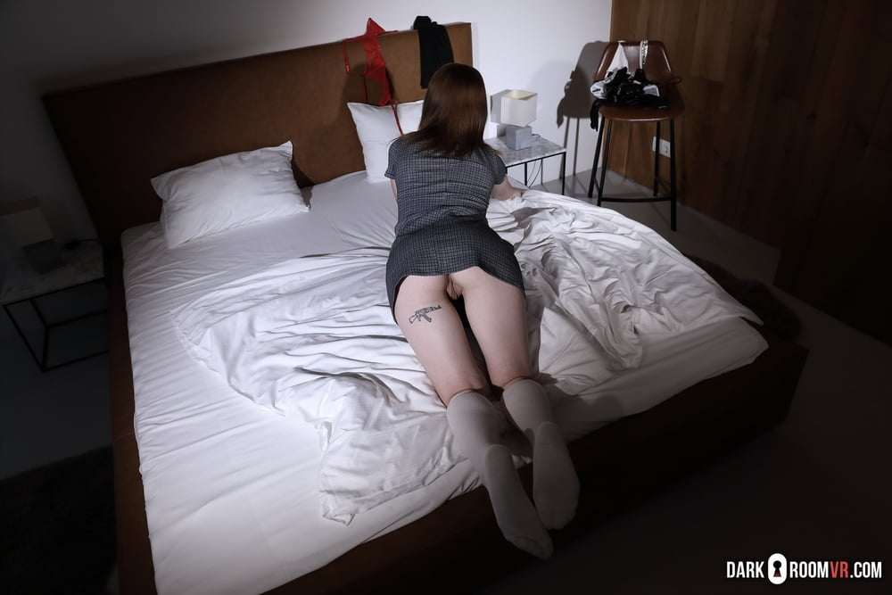 Good girl Matty tries new things and big cock