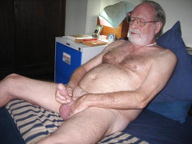 Beautiful old men in india