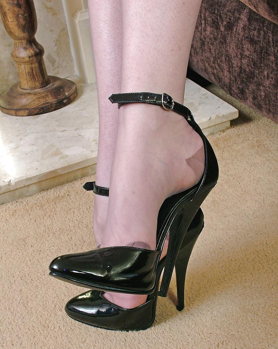 Sexy high heels fetish