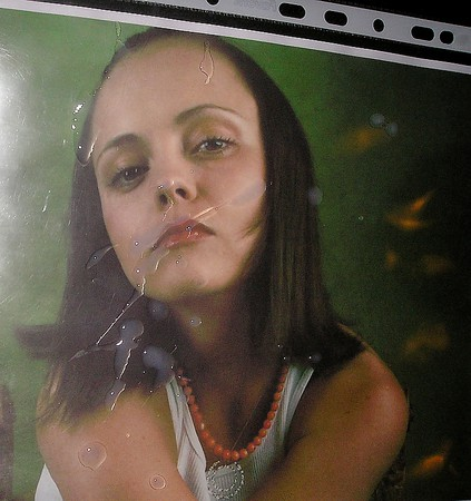 Have Cum on christina ricci simply matchless