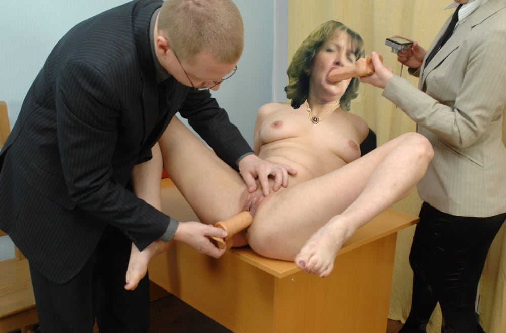 Milf's Secretary Job Interview End Up With Forced Fuck