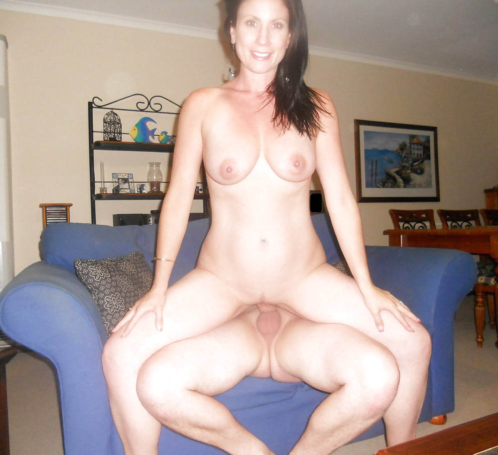 Hot sexy big boobed brunette milf slut