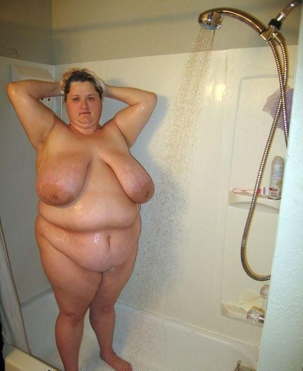 Bbw naked bathroom pics — 7