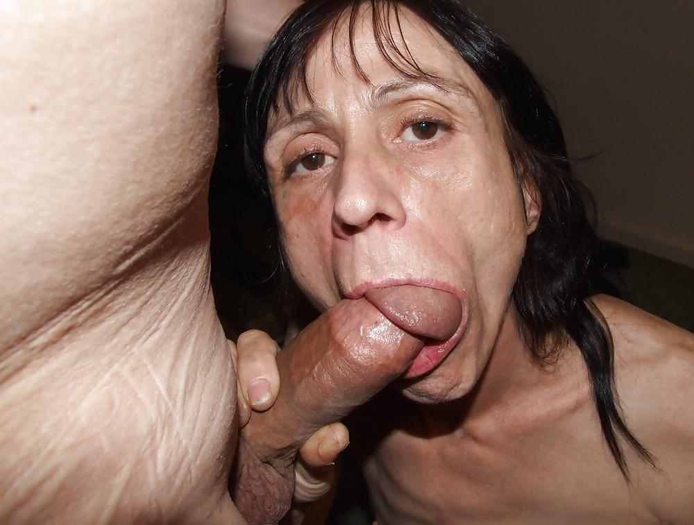 Sucking my tiny penis