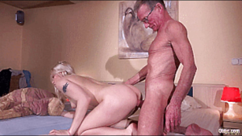 Grandpa Fucks Granddaughter With His Monster Cock Pics