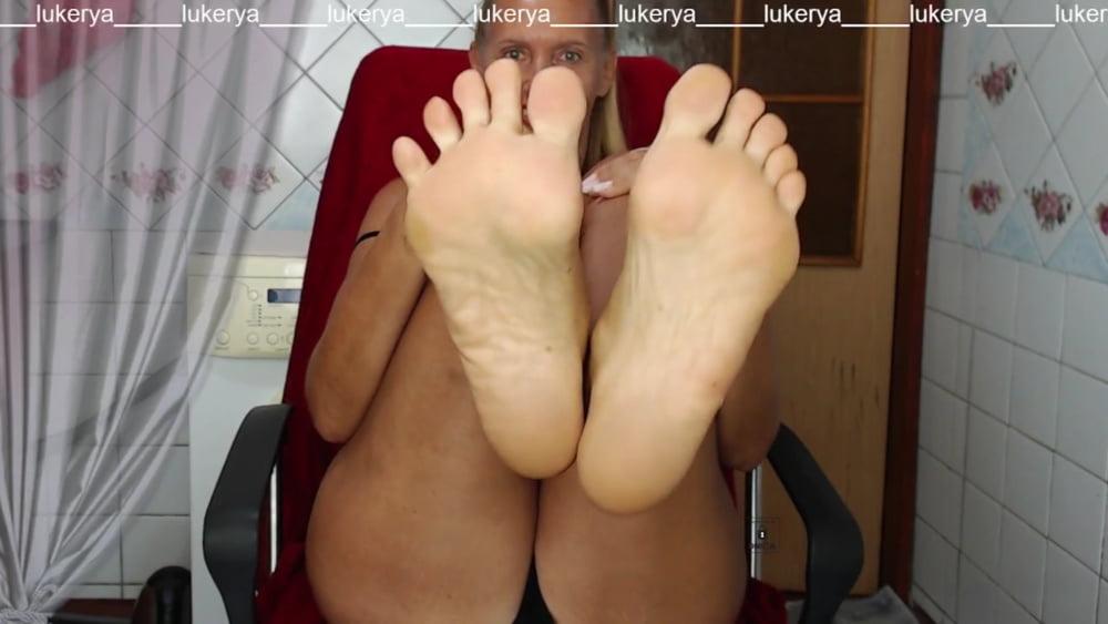 Lukerya's delicious feet again - 68 Pics
