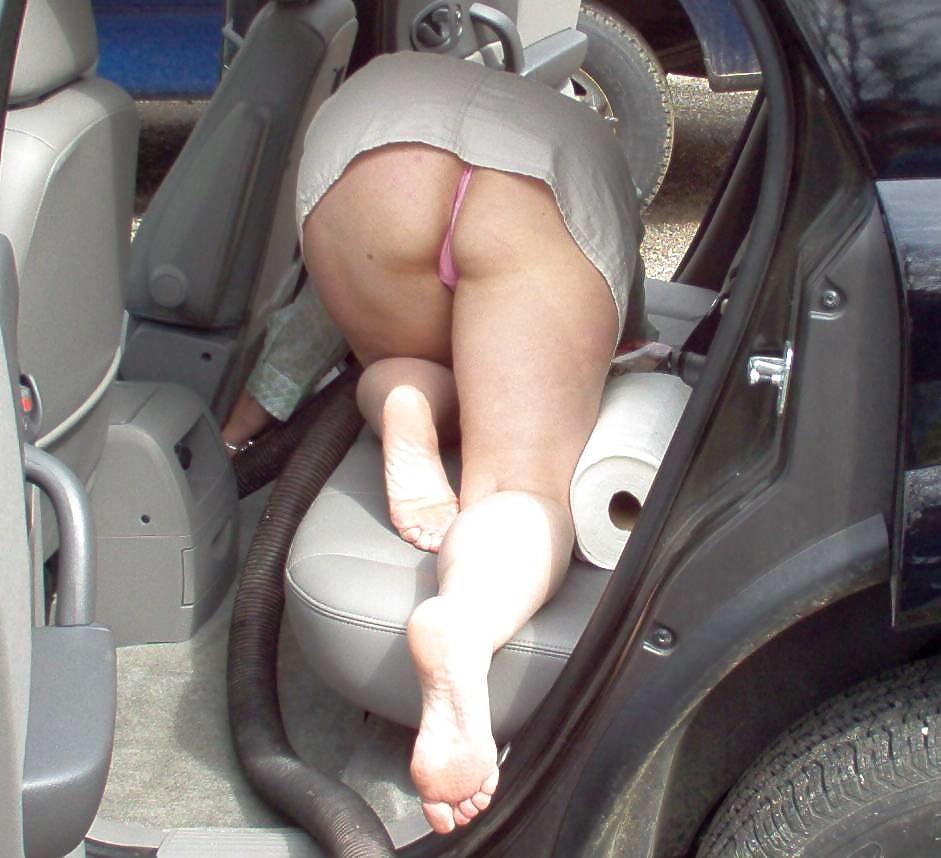 Big tit mature bondage