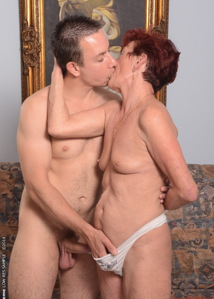 Mature mom with young son picture stock photos