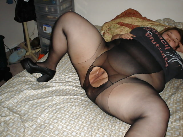 Husband fucks wife's tits
