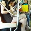 New York Subway girls asians