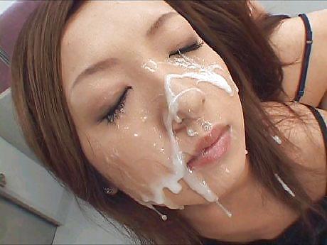 Mihiro cum on my face, wedding night sex in cars