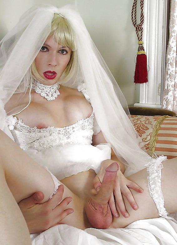 Порно невесты с трансами