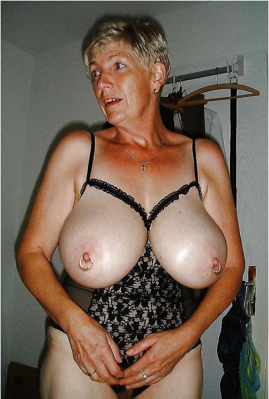 Grandma boobs nude, lesbian mistress and her bitch